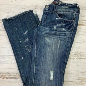Knockout Refuge Womens Boot Jeans Size 4R